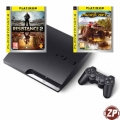 PlayStation 3 Slim 250 GB + Resistance 2 + Motorstorm: Pacific R