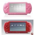 PSP Slim 2006 (Red, Pink) (ПО 5.50)